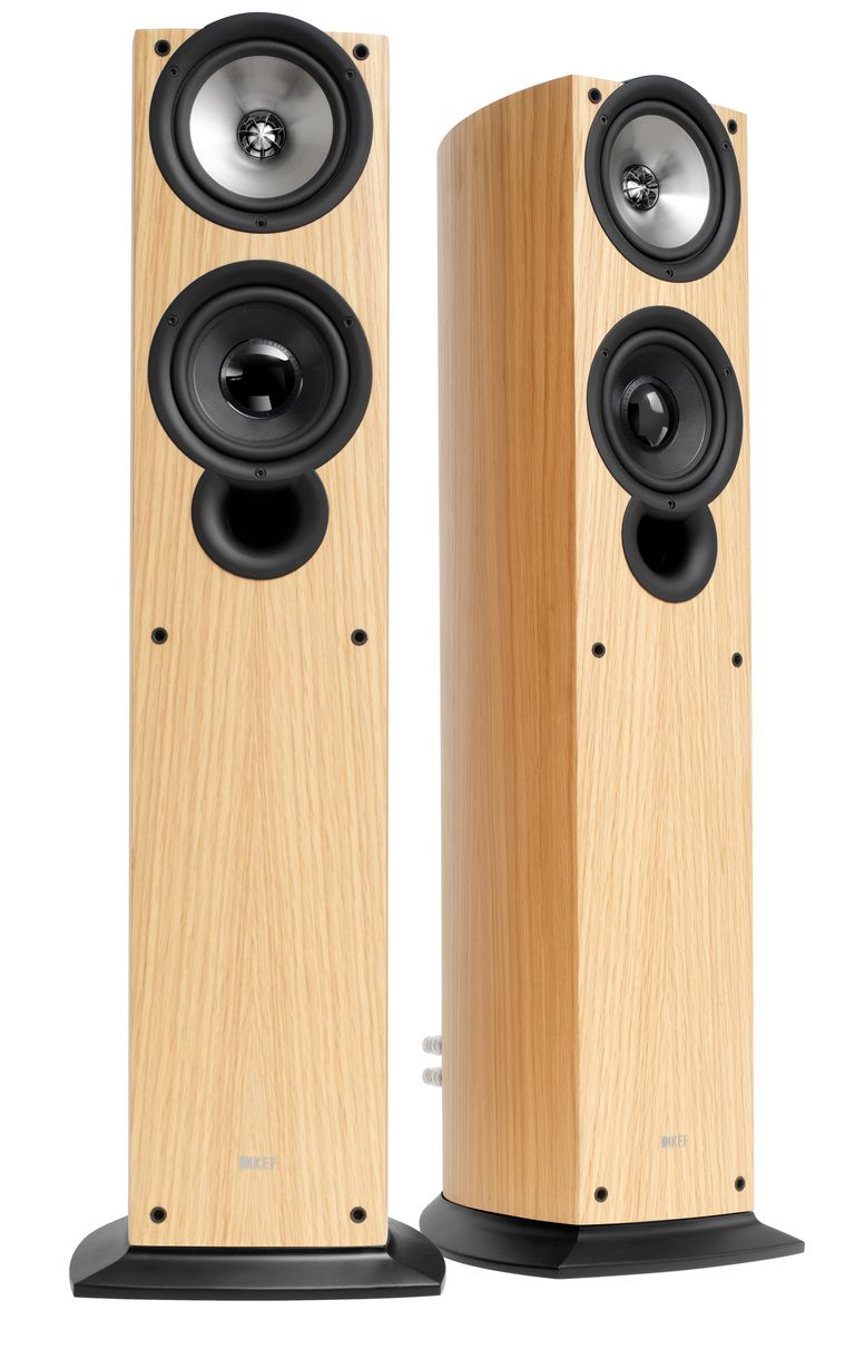 KEF iQ50 Compact Floorstanding Speakers (Review)