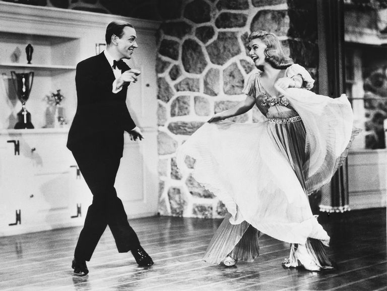 Rogers and Astaire in Carefree