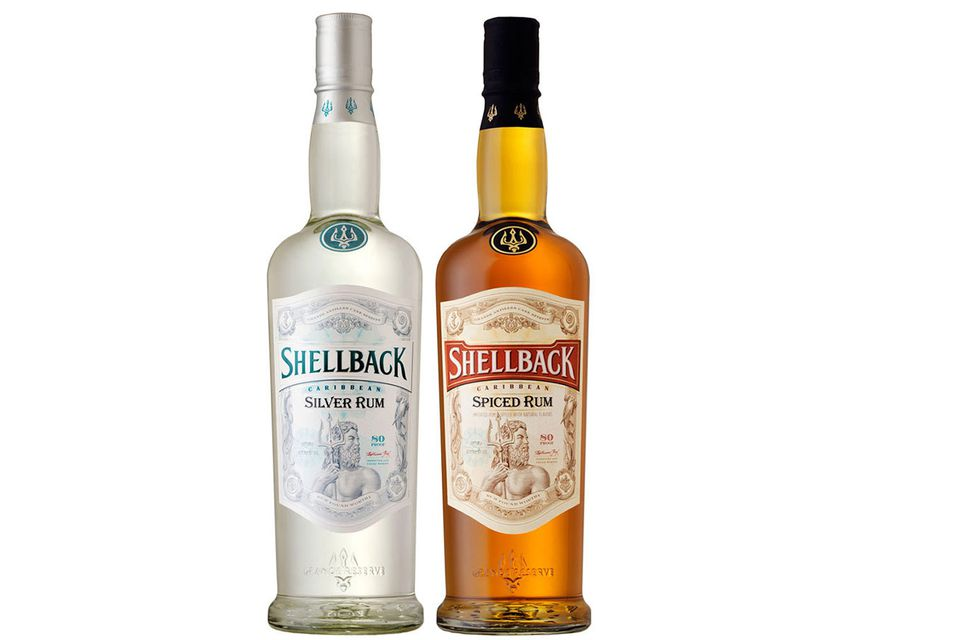 Shellback Silver and Spiced Rum