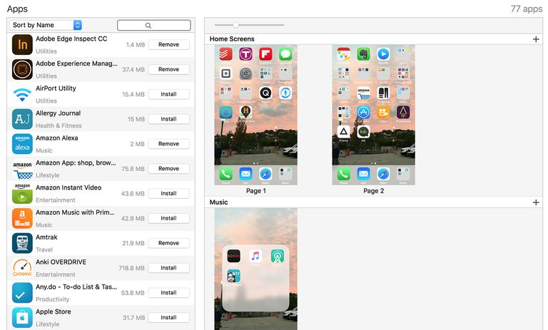How to manage apps on the iphone home screen how to manage iphone apps using itunes ccuart Images