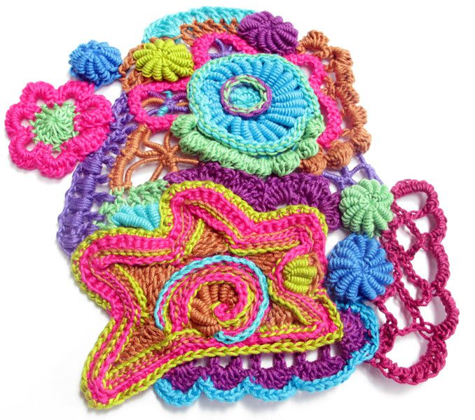 Example of Freeform Crochet