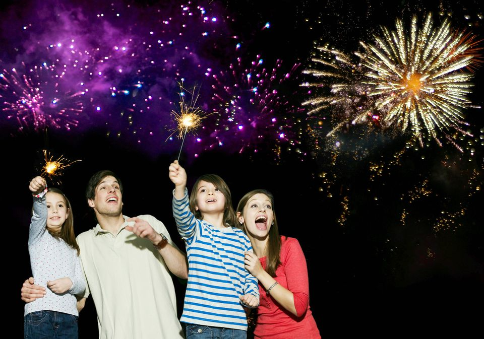 Best Family New Year's Celebrations - 2017 - 2018