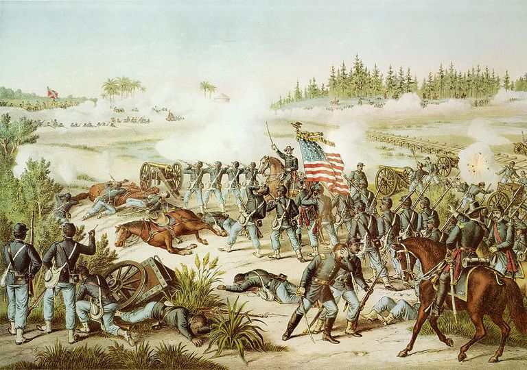 Fighting at Olustee
