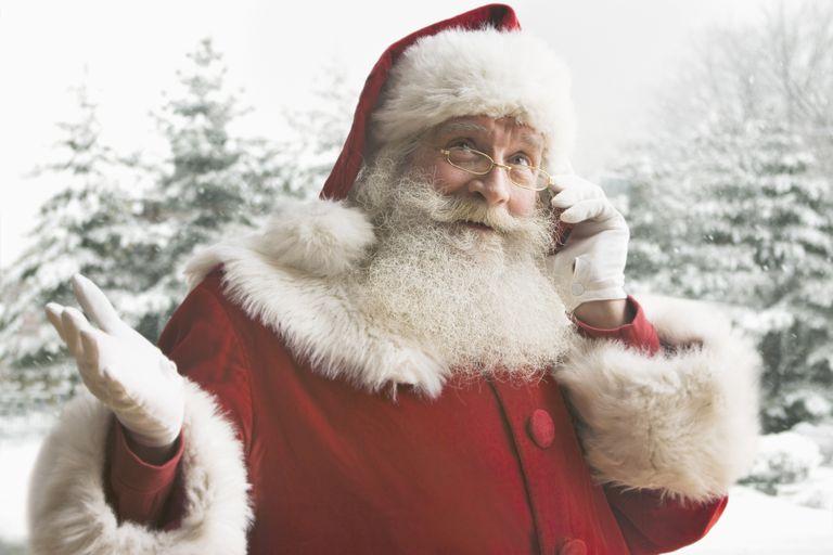 Mensaje de Santa Claus