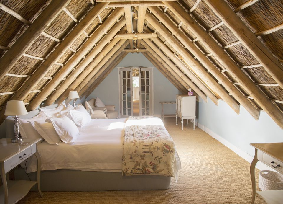 feng shui bed sloped ceiling