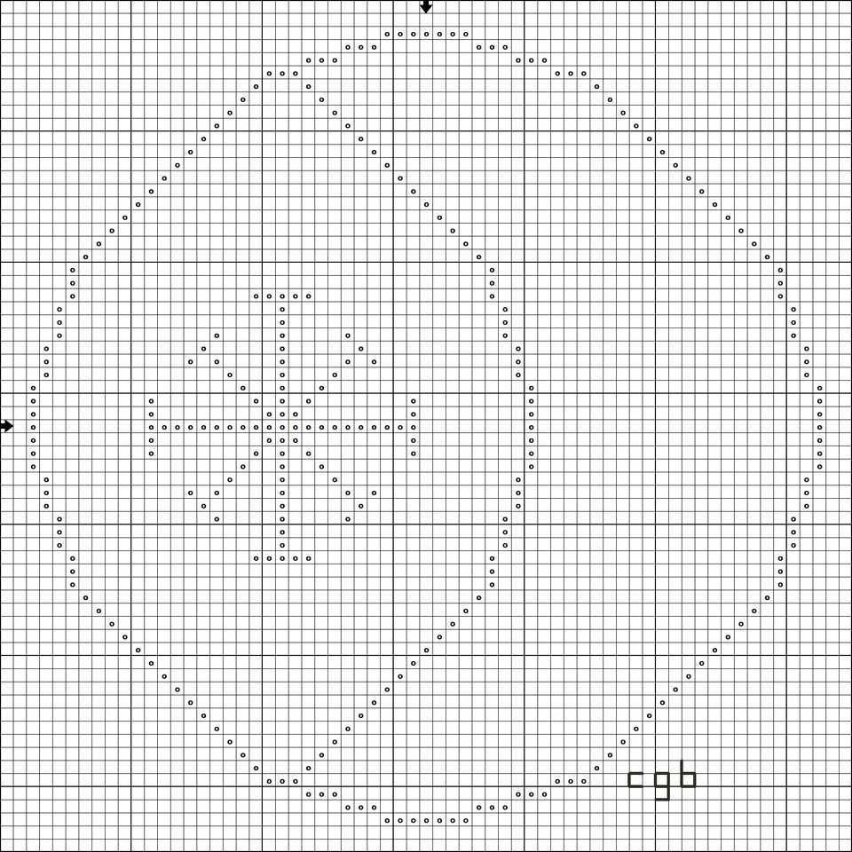 Free wiccan and pagan symbol cross stitch patterns free seax wica cross stitch pattern biocorpaavc Choice Image
