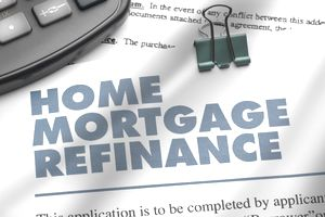 Home Mortgage Refinance : Stock Photo View similar imagesMore from this photographerDownload comp Caption:Home Mortgage Refinance Application and pen and calculator. ++All numbers and text are fictitious++ Home Mortgage Refinance