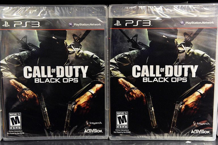 """New Video Game """"Call of Duty: Black Ops"""" Released"""