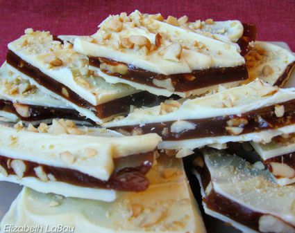 how to make toffee bark candy