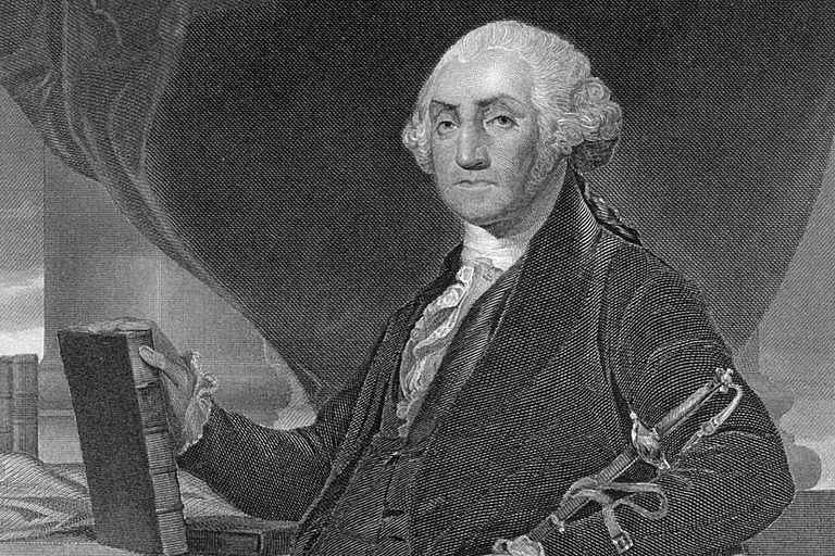 PERSONALITIES: PORTRAIT OF GEORGE WASHINGTON