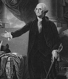 Portrait of President George Washington