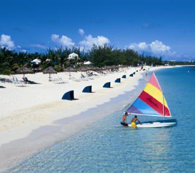 White-sand shore, photo courtesy of Beaches Resorts.