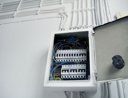 What is a Circuit Breaker Panel? Electric Circuit Breaker Panel on electric circuit contactor, electric push button panel, electric heat pump, electric main breaker panel, electric cable, electric lights, electric water heater, electric fuse panel, electric circuit motor, electric smoke detector, electric wiring panel, electric motor starter panel, electric hydraulic pump,