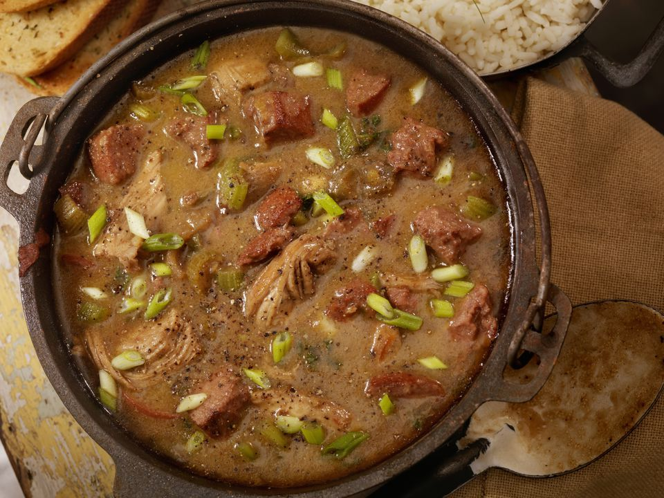 Slow Cooker Chicken and Sausage Gumbo Recipe