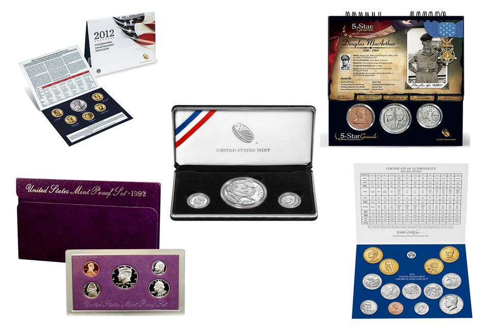 Examples of Coin Sets from the United States Mint