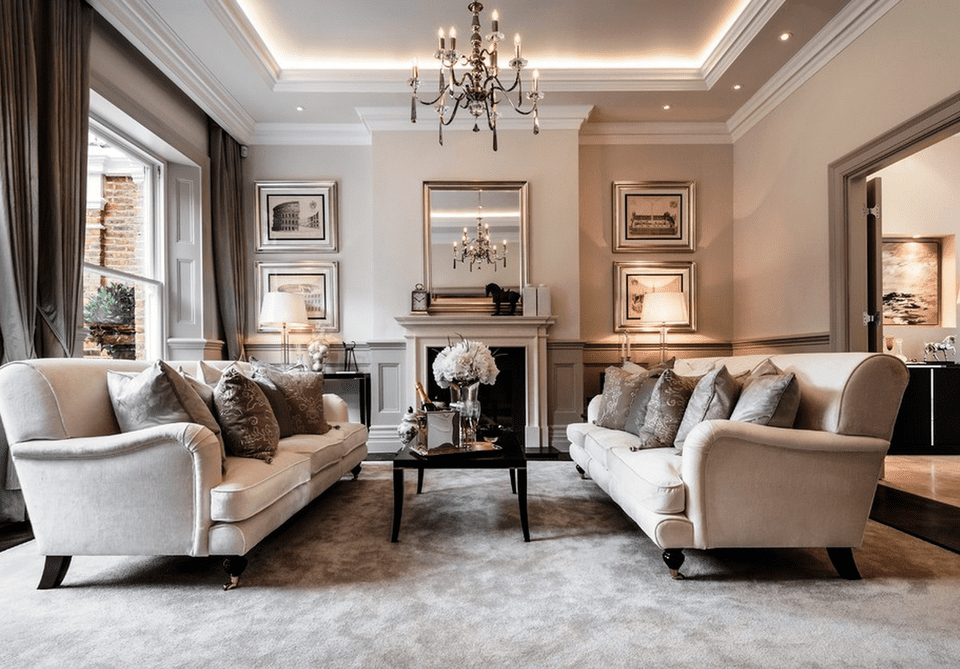 classic living room. Elegant traditional living room 23 Traditional Living Rooms