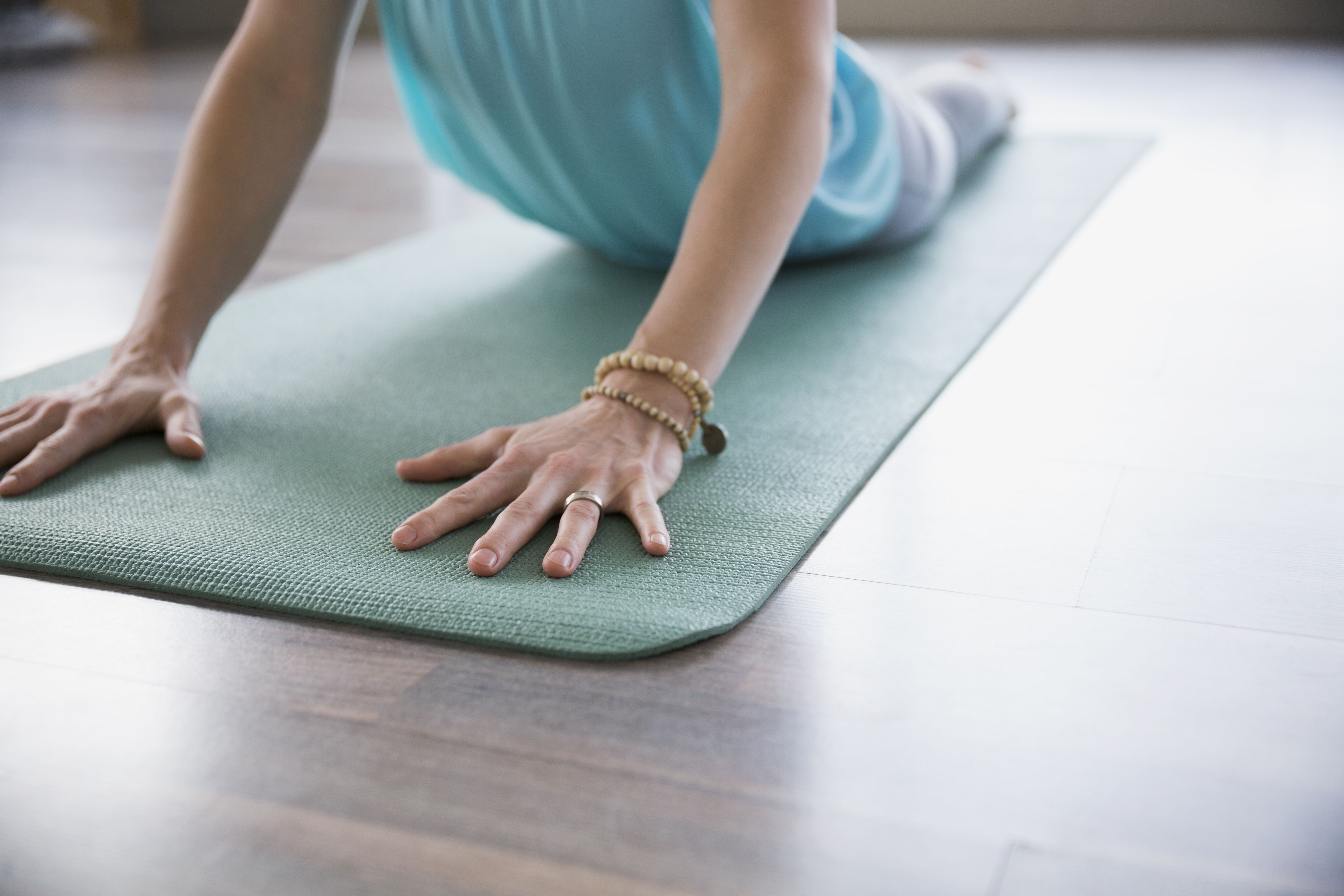 What To Do About A Slippery Yoga Mat