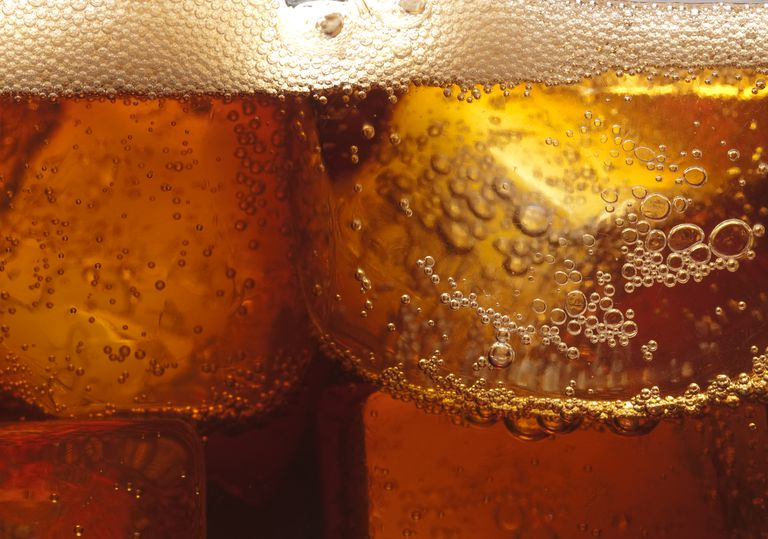 Foam forming on top of a soda or beer is an example of effervescence.