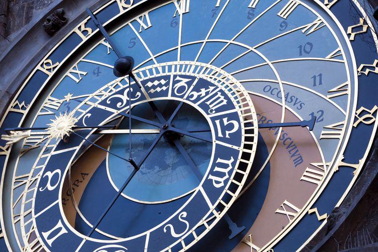Detail of Astronomical Clock Prague Town Hal
