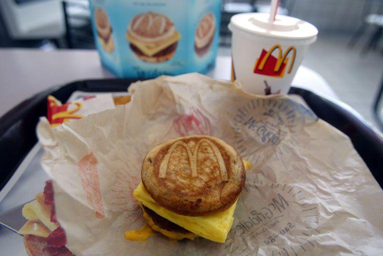 McDonald's breakfast items
