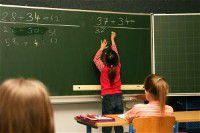 girls doing math