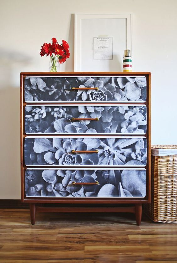 floral decoupage furniture. Floral Decoupage Furniture L
