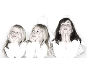 Three children actors.