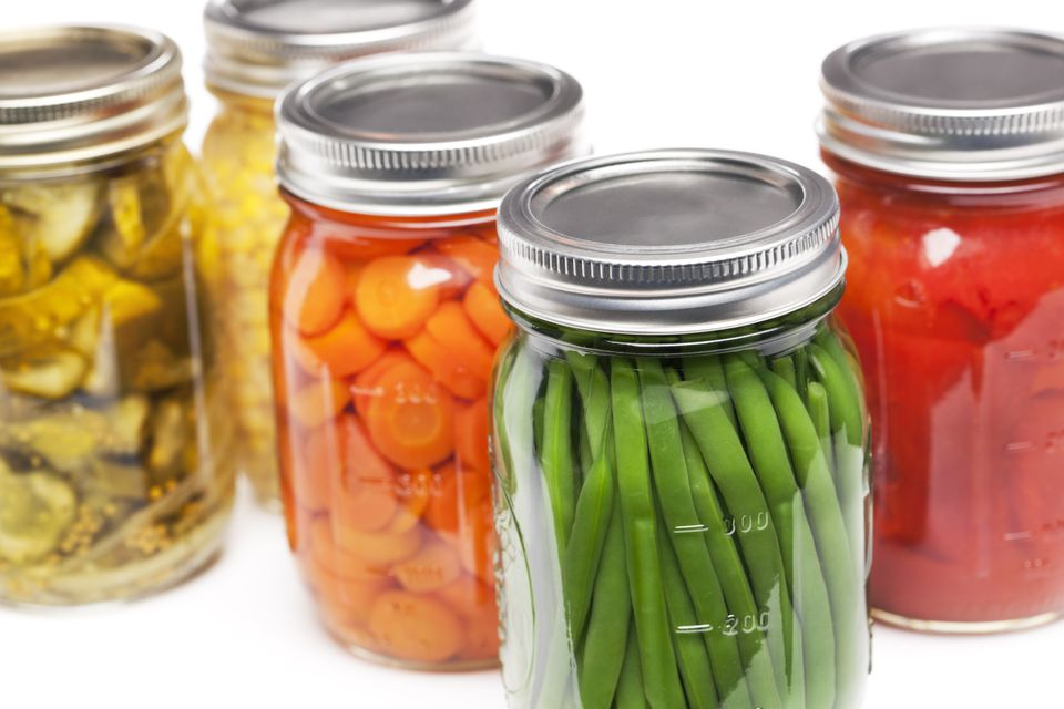 Home-canned foods