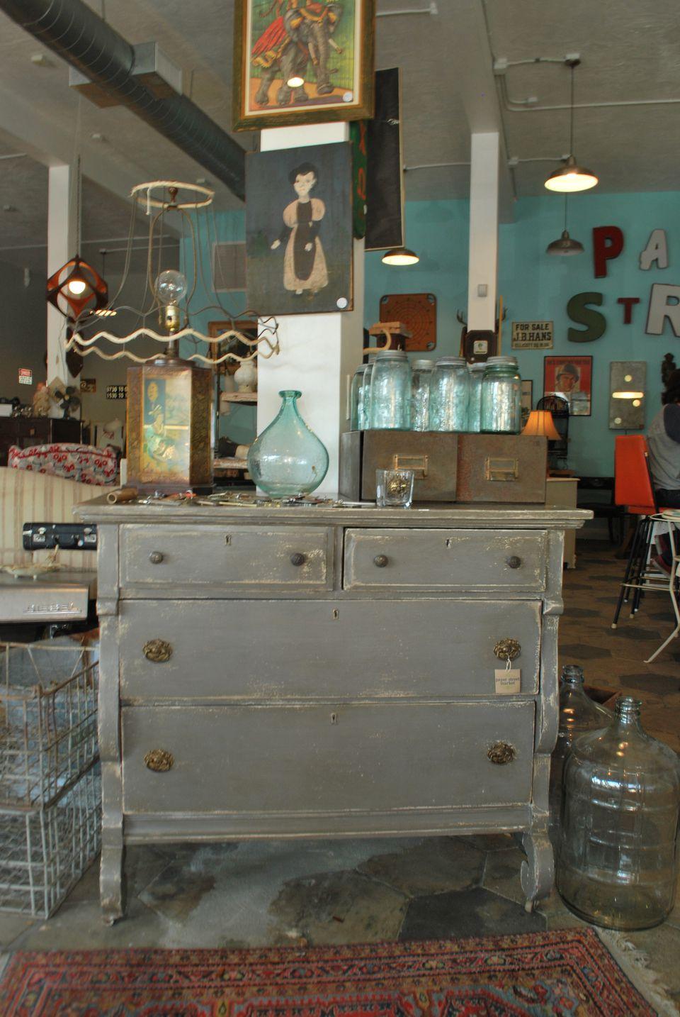 vintage dresser perfect for a makeover