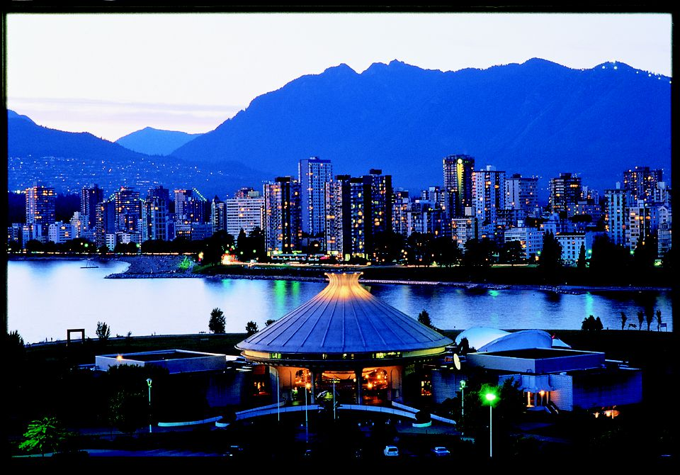View of downtown Vancouver from Vanier Park