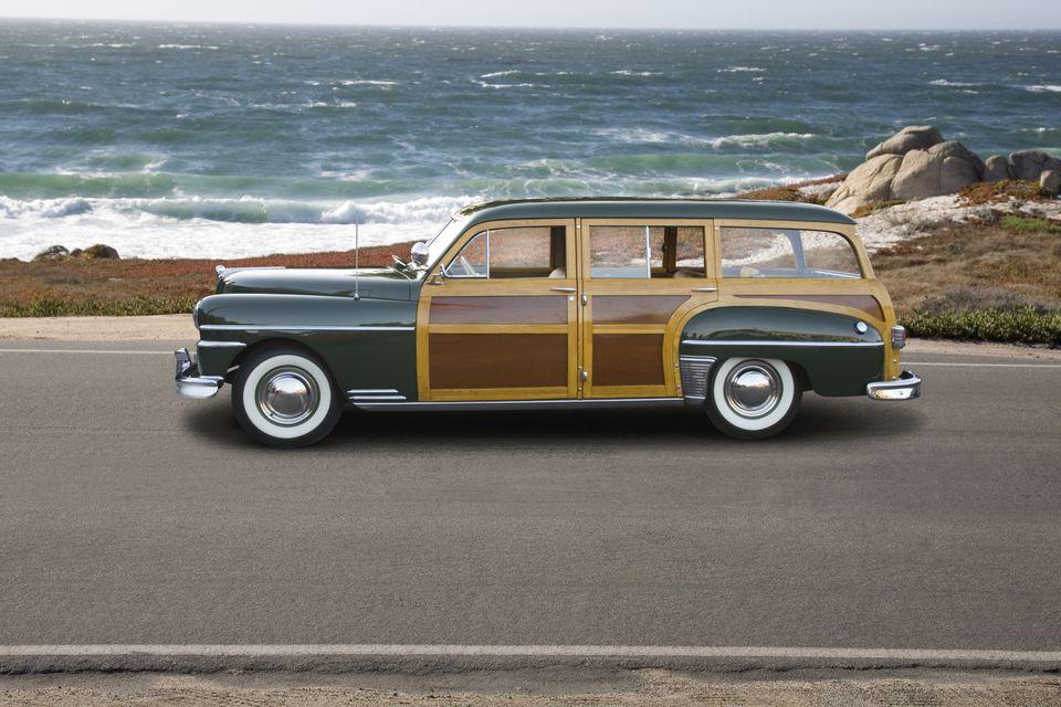 Classic Woodie Car