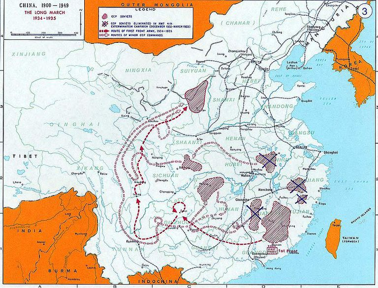 The Long March solidified Mao Zedong's leadership position within the Communist forces.