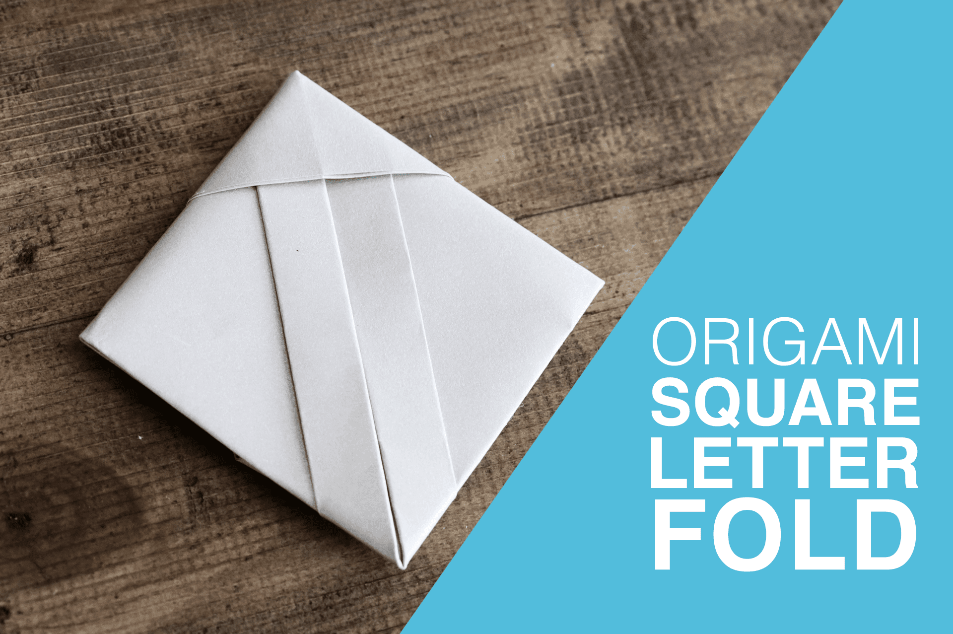 Origami Square Letterfold Tutorial - photo#14