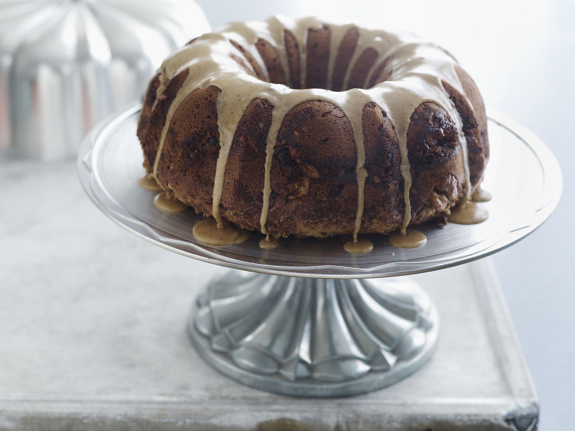 Passover Friendly Banana Walnut Sponge Cake Recipe