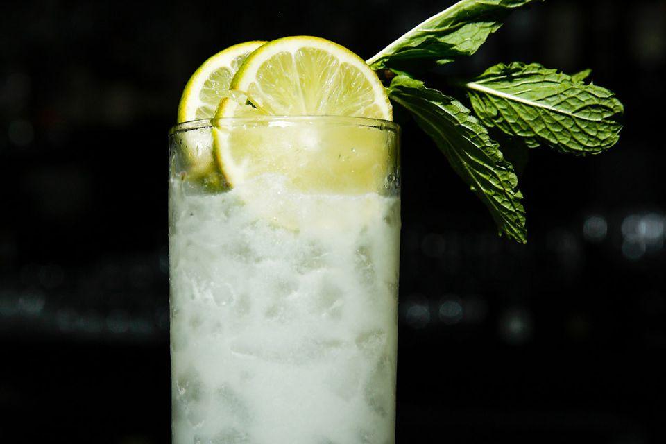 W New York's Lady Liberty Rum Cocktail Recipe