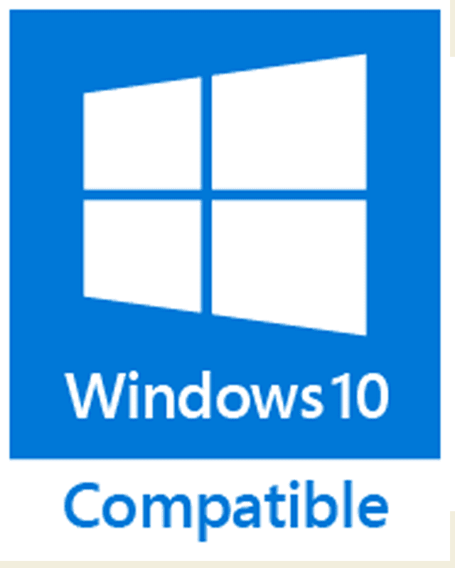 Picture Of The Windows 10 Compatible Logo