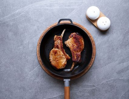 how to cook juicy thin pork chops