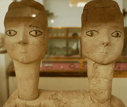 Plaster Sculptures from Ain Ghazal