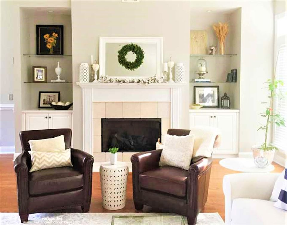 Cheerful, Bright Living Room After Makeover