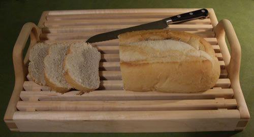 Wooden Bread Tray