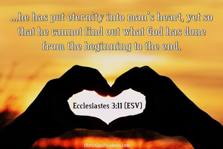 Eternity in the Hearts of Men