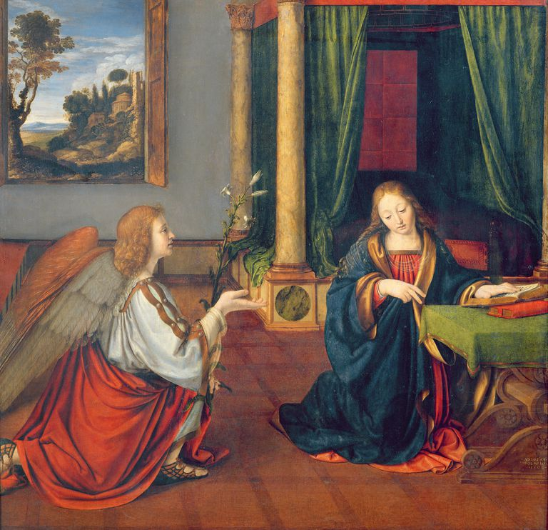 The Annunciation, 1506