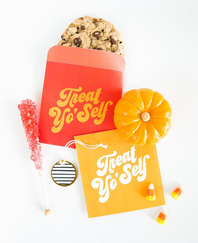 DIY Treat Yo Self Treat Bags