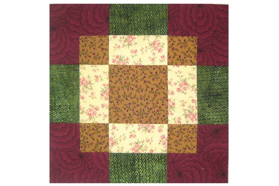 Antique Tile Quilt Block Pattern