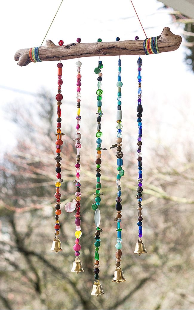 DIY outdoor decor ideas - wind chime