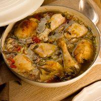Braised chicken recipe