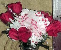 Plastic Shopping Bag Flowers