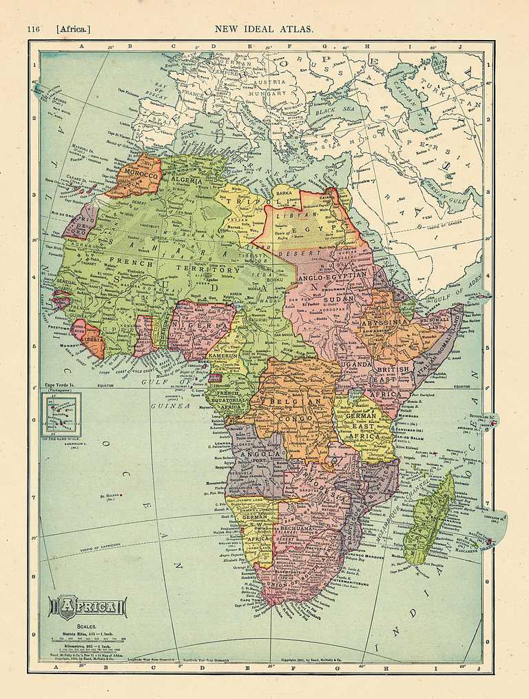 The Colonial Names of African States