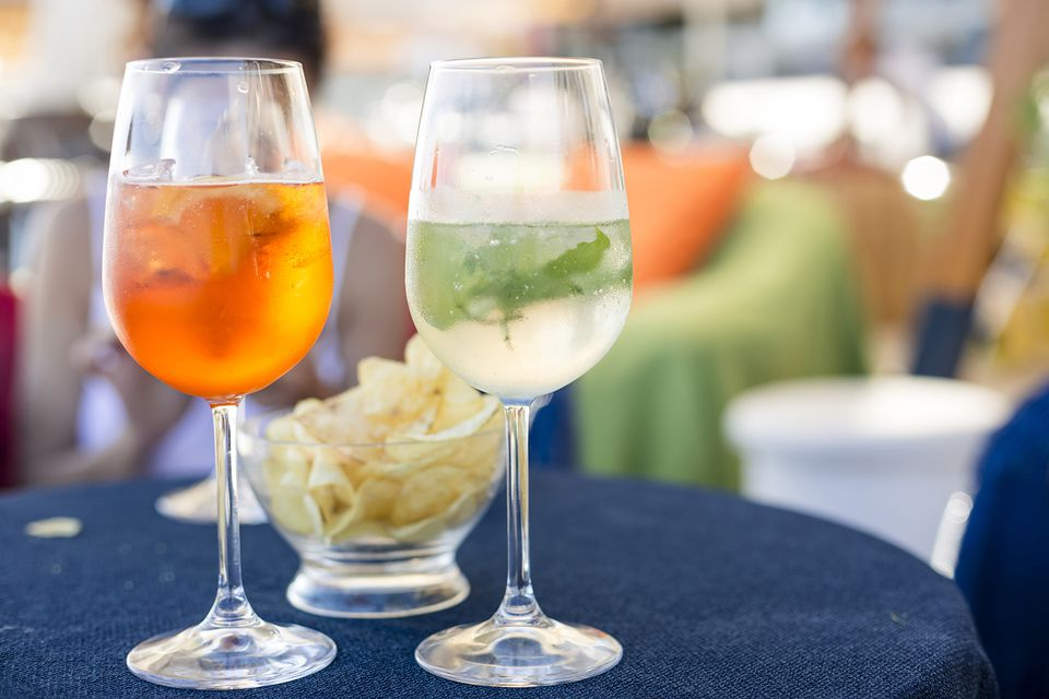 Aperitifs are perfect for serving before a meal.