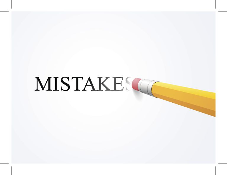 Mistakes erased